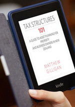 Tax structures 101 E-Book